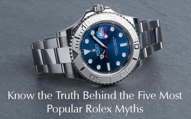 Rolex Myths