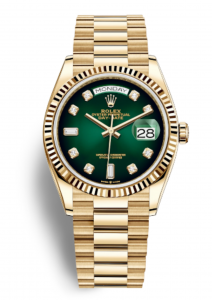 rolex day date goldencash